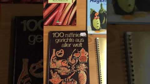 Embedded thumbnail for Neuzugänge: Alles übers Kochen. Kochbücher
