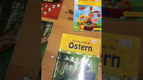 Embedded thumbnail for Neuzugänge: Ostern -Bastellbücher -Dekoration -Eier bemalen